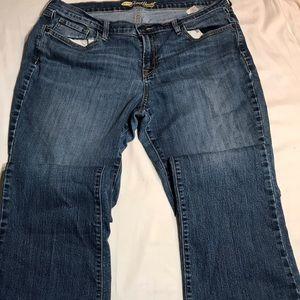 old navy blue jeans sweetheart women size 16